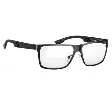 GUNNAR Office Collection Vinyl, onyx/ crystal clear (VIN-00103Z)