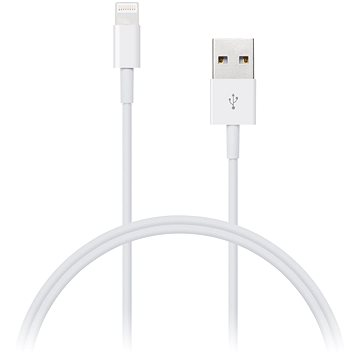 CONNECT IT Wirez Lightning Apple 1m biely(CI-159)