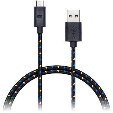 CONNECT IT Wirez Premium Micro USB 1m černý (CI-953)