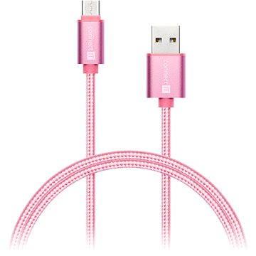 CONNECT IT Wirez Premium Metallic USB-C 1m rose (CI-667)
