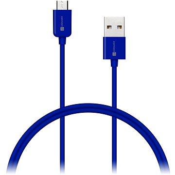 CONNECT IT Colorz Micro USB 1m modrý (CI-573)
