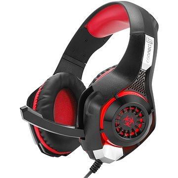 CONNECT IT CHP-4510-RD Gaming Headset BIOHAZARD červená (CHP-4510-RD)