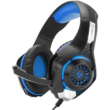 CONNECT IT CHP-4510-BL Gaming Headset BIOHAZARD modrá (CHP-4510-BL)