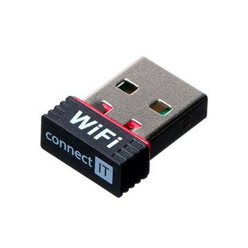 CONNECT IT CI-232 Mini WiFi Adapter 150Mb/s