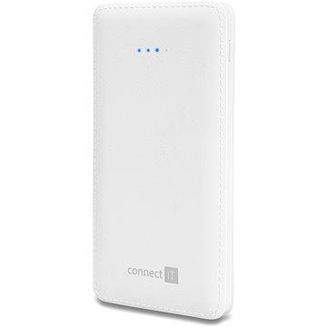 CONNECT IT CI-1137 Power Bank 10000 mAh, bílá (CI-1137)
