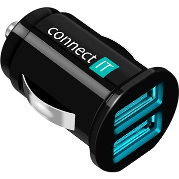 CONNECT IT InCarz Charger Mini černá (CI-176)