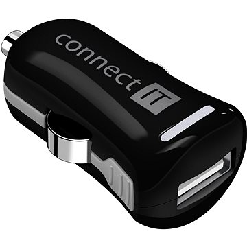 CONNECT IT InCarz Charger ONE 2.1A černá (V2) (CI-1120)