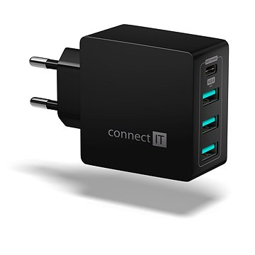 CONNECT IT Fast Charge CWC-4060-BK černá