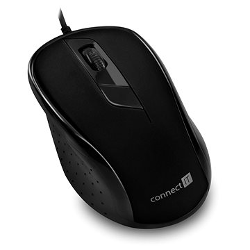 CONNECT IT Optical USB mouse černá (CMO-1200-BK)