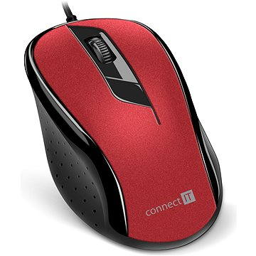 CONNECT IT Optical USB mouse červená (CMO-1200-RD)