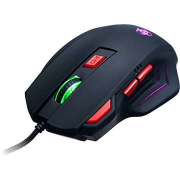 CONNECT IT Biohazard Mouse čierna(CI-191)