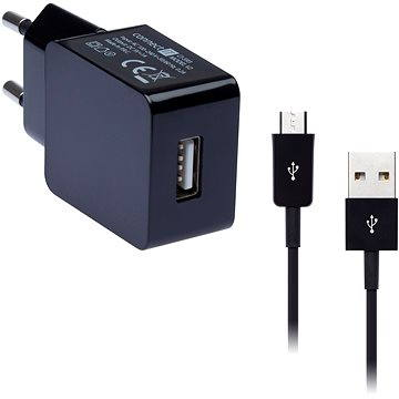 CONNECT IT COLORZ micro USB Charging Combo černý (CI-593_CI-569)