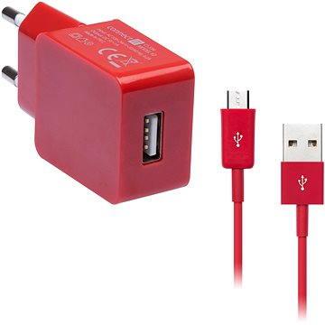 CONNECT IT COLORZ micro USB Charging Combo červený (CI-594_CI-570)