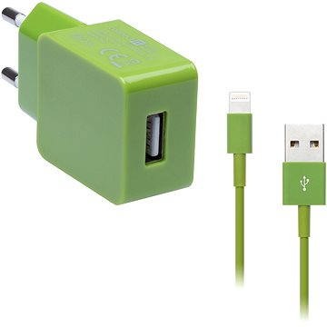 CONNECT IT COLORZ Apple Lightning Charging Combo zelený (CI-595_CI-563)