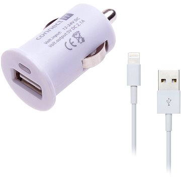 CONNECT IT COLORZ InCarz Apple Lightning Charging Combo bílý (CI-588_CI-564)