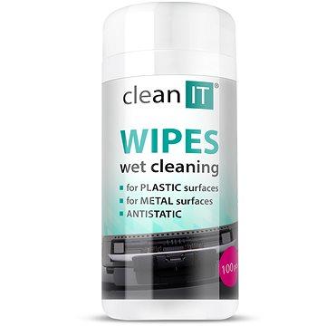 CLEAN IT čistící ubrousky mokré na LCD/TFT 100ks (CL-142)
