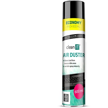 CLEAN IT Stlačený vzduch 600ml (CL-104)