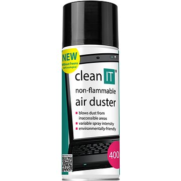 CLEAN IT nehořlavý stlačený plyn 400g (CL-131)