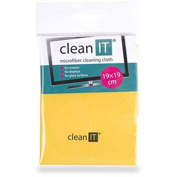 CLEAN IT čisticí utěrka z mikrovlákna, malá žlutá (CL-712)