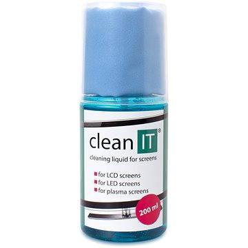 CLEAN IT čistící roztok na obrazovky s utěrkou ve víčku (CL-18)