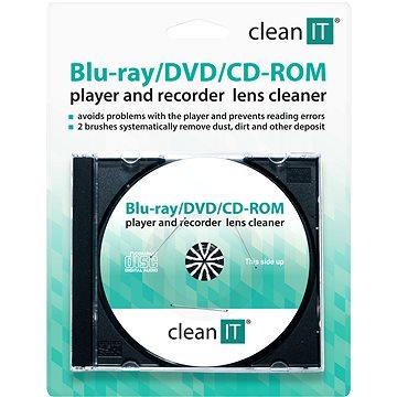 CLEAN IT Brushes - čistící CD/DVD (CL-32)