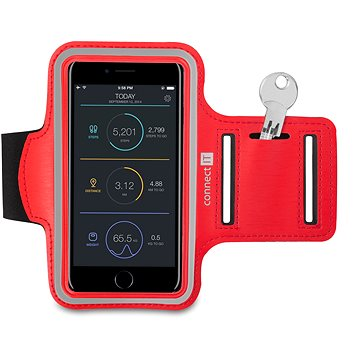 CONNECT IT CFF-1150-RD Fitness Armband, Red