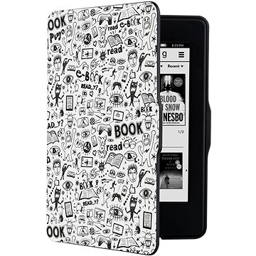 CONNECT IT CEB-1031-WH pro Amazon Kindle Paperwhite 1/2/3, Doodle White (CEB-1031-WH)