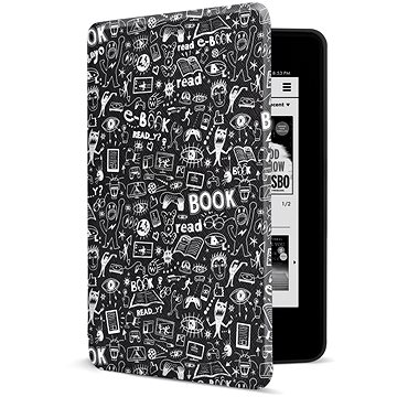 CONNECT IT CEB-1043-BK pro Amazon NEW Kindle Paperwhite 4 (2018), Doodle black (CEB-1043-BK)