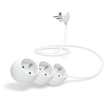 CONNECT IT prodlužovací 230 V, 3 zásuvky, 1,5m, bílý (CI-1319)