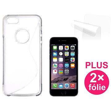 CONNECT IT S-Cover iPhone 6/6s čiré (CI-518)