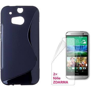 CONNECT IT S-Cover HTC One M8/M8s černé (CI-926)