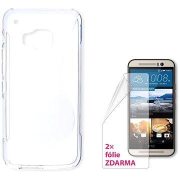 CONNECT IT S-Cover HTC One M9 čiré (CI-745)