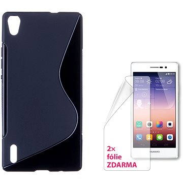 CONNECT IT S-Cover HUAWEI P7 černé (CI-870)