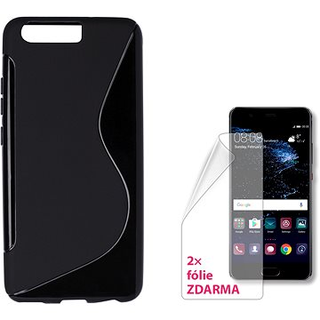 CONNECT IT S-Cover Huawei P10 černé (CI-1267)
