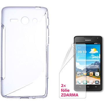 CONNECT IT S-Cover HUAWEI Y530 čiré (CI-885)