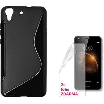 CONNECT IT S-Cover Huawei Y6 II černé (CI-1239)