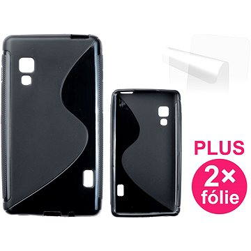 CONNECT IT S-Cover LG Optimus L5 II (E460) černé (CI-293)