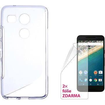 CONNECT IT S-Cover LG Nexus 5X čiré (CI-911)