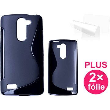 CONNECT IT S-Cover LG Bello (D335E) černé (CI-621)