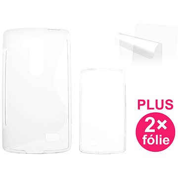 CONNECT IT S-Cover LG L Fino (D295) čiré (CI-624)