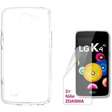 CONNECT IT S-Cover LG K4 čiré (CI-1089)