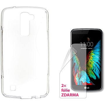 CONNECT IT S-Cover LG K10 čiré (CI-1093)