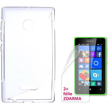 CONNECT IT S-Cover Microsoft Lumia 532 čiré (CI-931)