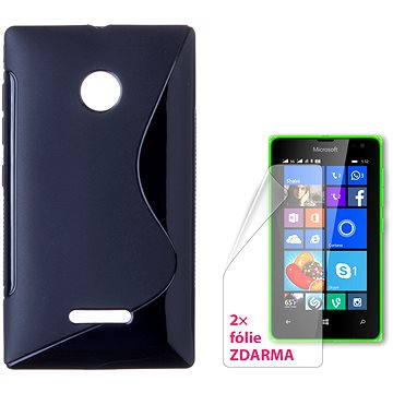 CONNECT IT S-Cover Microsoft Lumia 532 černé (CI-932)