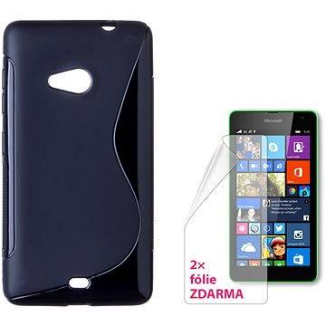 CONNECT IT S-Cover Microsoft Lumia 535 černé (CI-774)