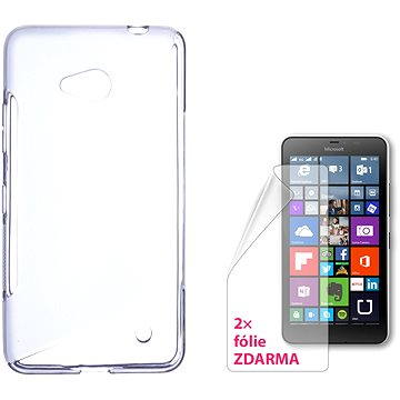 CONNECT IT S-Cover Microsoft Lumia 640 LTE/640 Dual SIM čiré (CI-735)