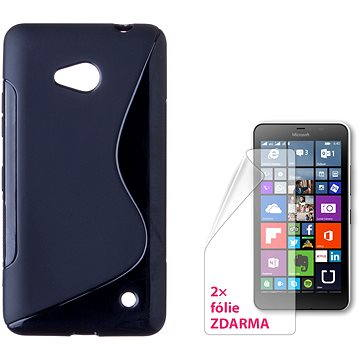CONNECT IT S-Cover Microsoft Lumia 640 LTE/640 Dual SIM černé (CI-736)