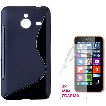 CONNECT IT S-Cover Microsoft Lumia 640 XL/640 XL LTE/640 XL Dual SIM černé (CI-778)