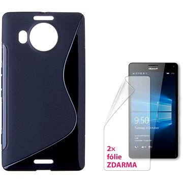 CONNECT IT S-Cover Microsoft Lumia 950 XL/950 XL Dual SIM černé (CI-940)