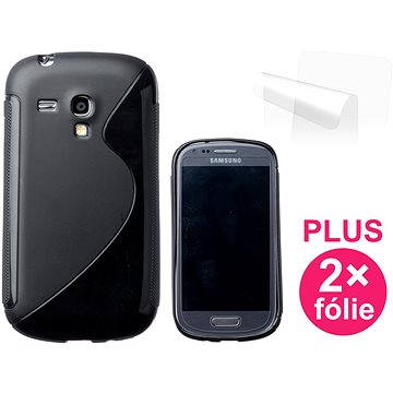 CONNECT IT S-Cover Samsung Galaxy S III Mini (i8190) černé (CI-335)